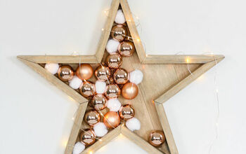 DIY Wood Stars (STAR LAMP)