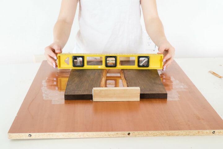 diy wood resin tray
