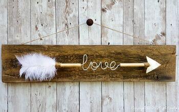 DIY a Valentine's Love Arrow