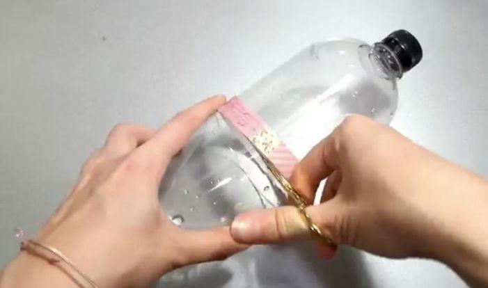 Cut Empty Plastic Bottles