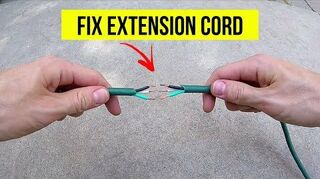 q repairing hedge trimmer extension cable