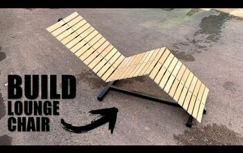 Amazing Upcycle: How to Make an Outdoor Lounge Chair From Bed Slats