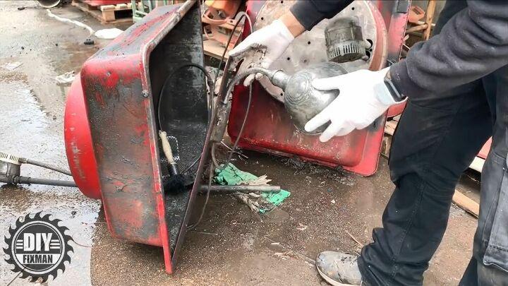restoring a ruined vintage light