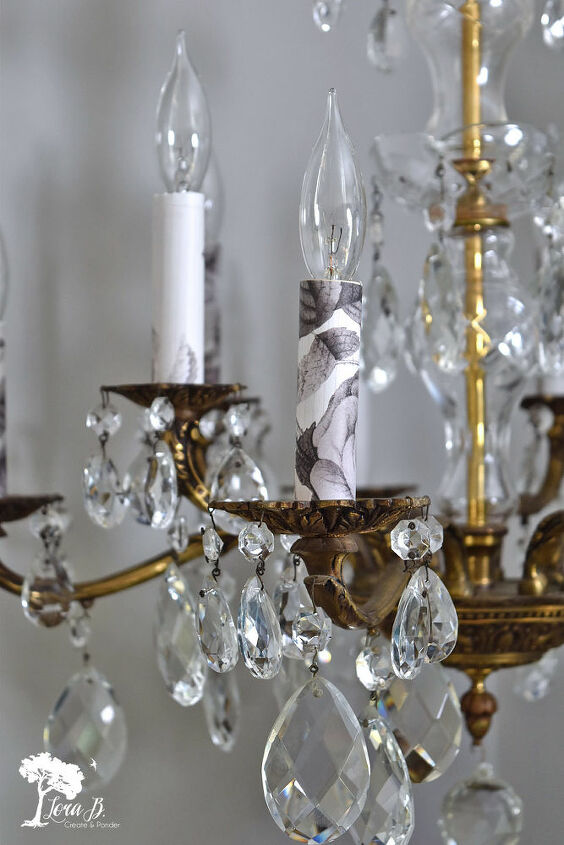how to update a vintage chandelier and keep it s classic appeal
