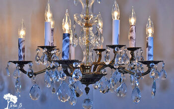How to Update a Vintage Chandelier (and Keep It's Classic Appeal)