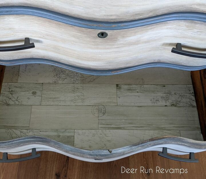 creating a white washed driftwood look for a coastal style