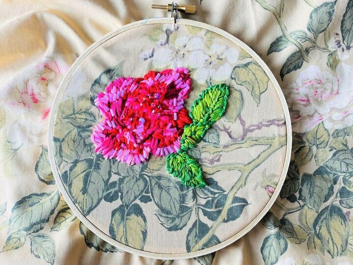 embroidered sheet tapestry