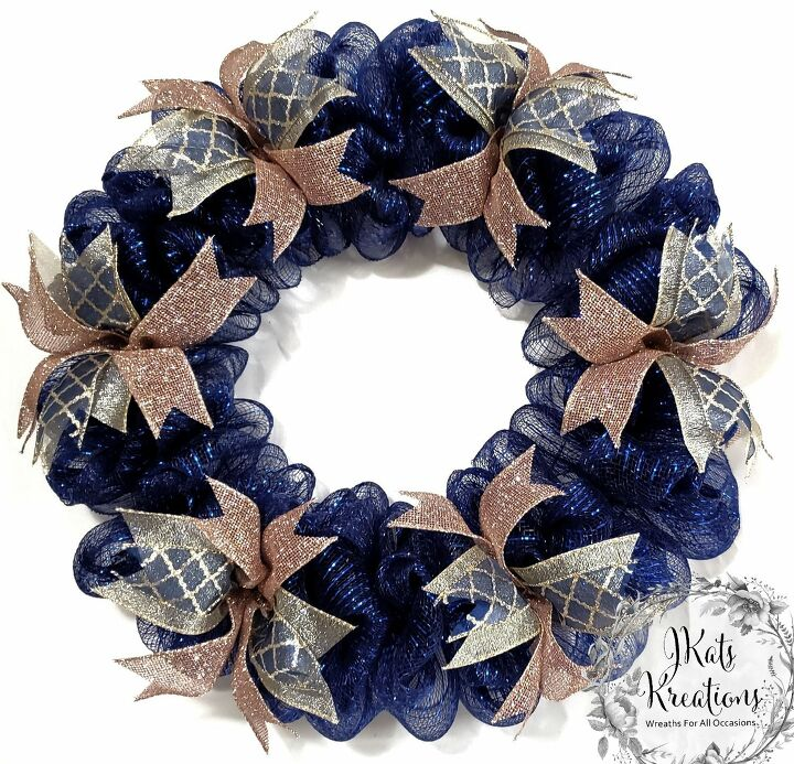 how to make a deco mesh bubble wreath tutorial