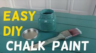 q how do you make chalk paint