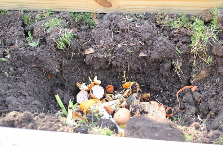 how to direct compost