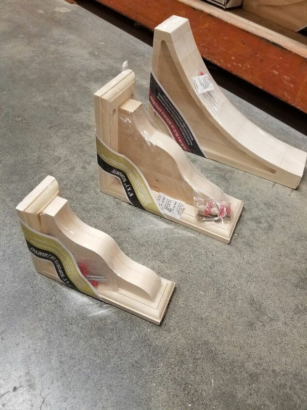 A small example of available corbels.