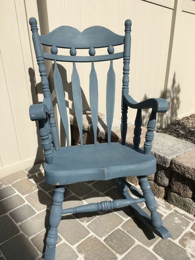 rocking chair eye sore to front porch envied