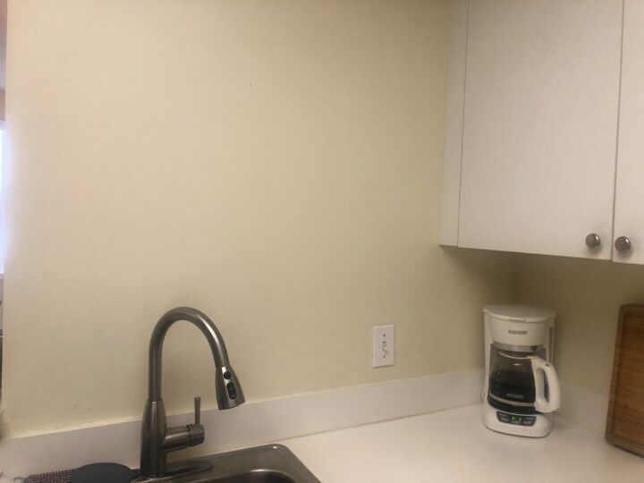 q any ideas for awkward coffee corner and space above sink