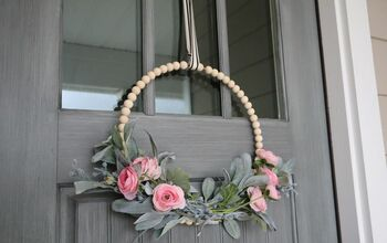 DIY Beaded Wreath