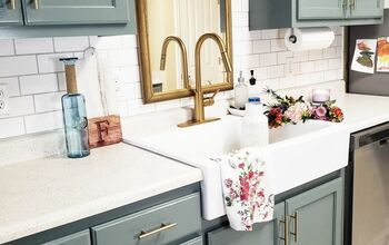 Upgrade Your Kitchen Counters On a Budget - Faux Stone