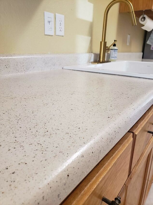 upgrade your kitchen counters on a budget faux stone