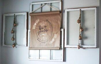 Farmhouse scroll sign