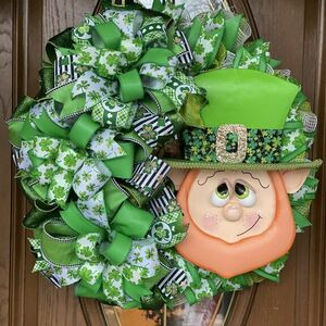 St. Paddy's Day wreath
