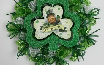 $10 shamrock wreath