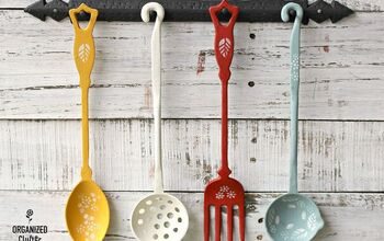 Garage Sale Vintage Iron Utensil Upcycle