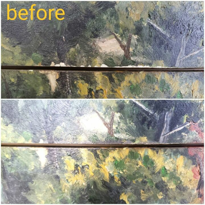 how to refinishing originally antique vintages without changing