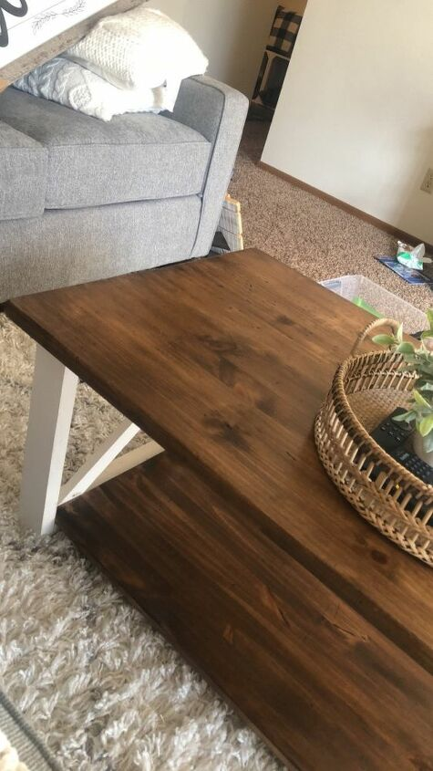 q how do i remove tacky sticky stain from wood table