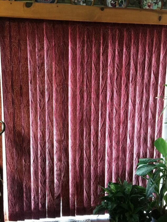 how i updated our ugly vertical blinds