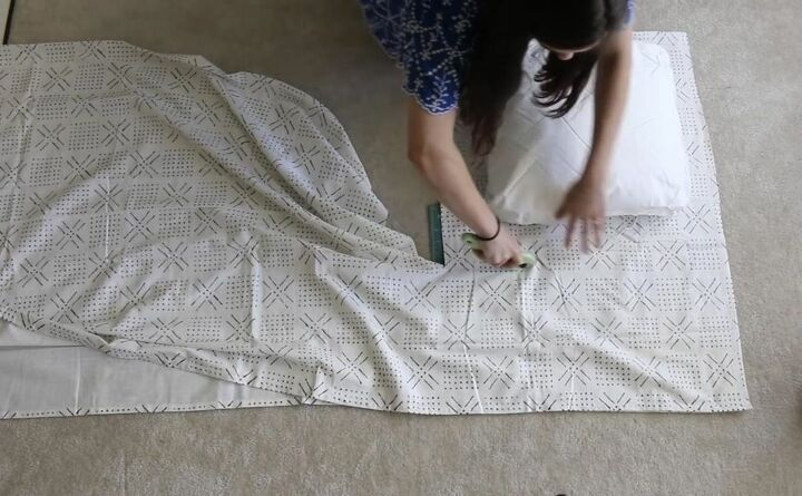 Measure and Cut Fabric for Throw Pillow