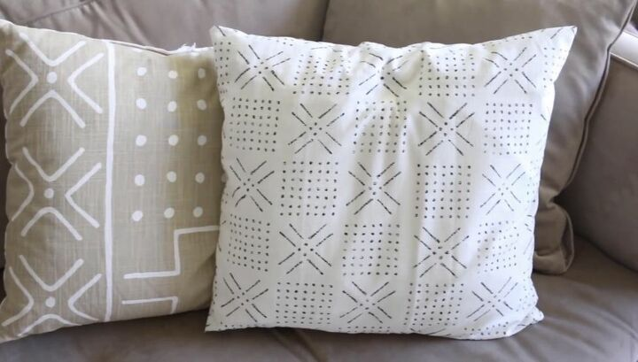 Invert Fabric and Finish Throw Pillow