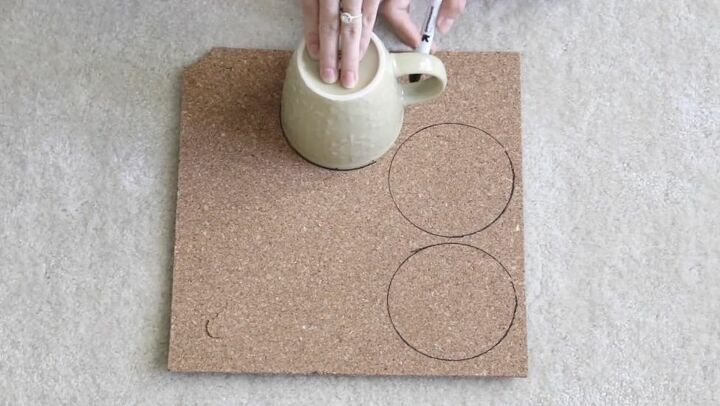 Trace Circle Shape for Coasters