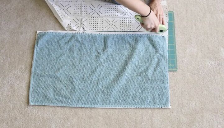Cut Fabric for Towel