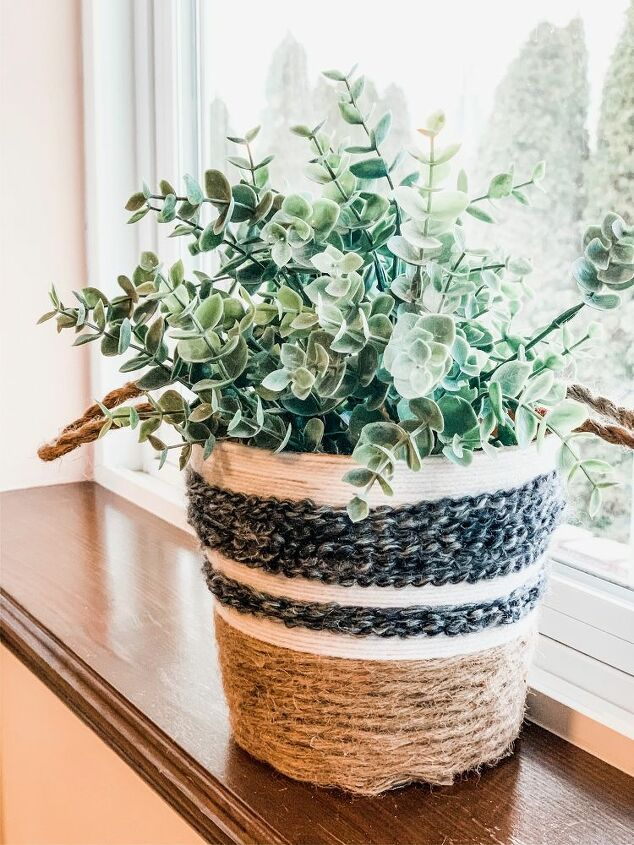 budget friendly planter upcycle