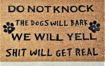How to Make a Novelty Doormat