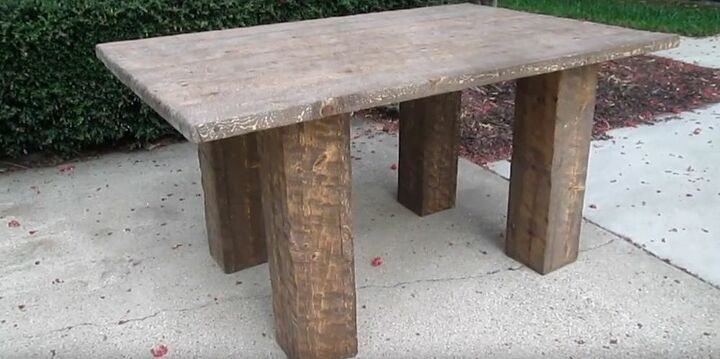 how to make an office table for 100