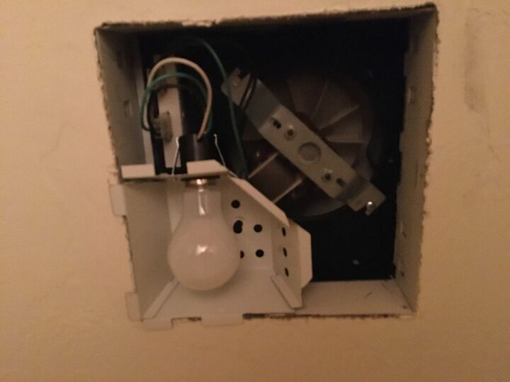 new cover for a bathroom fan