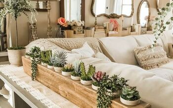 How to Make a Faux Succulent Display From a Sugar Mold