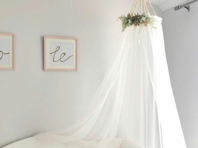 diy bed canopy