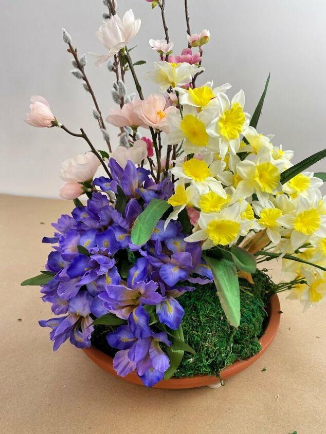 bring a piece of your spring garden inside