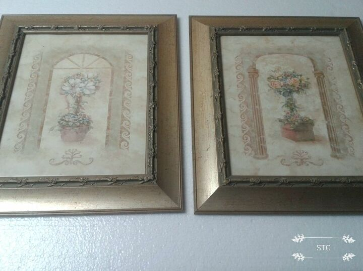 Two 8 x 10 Recycled Frames