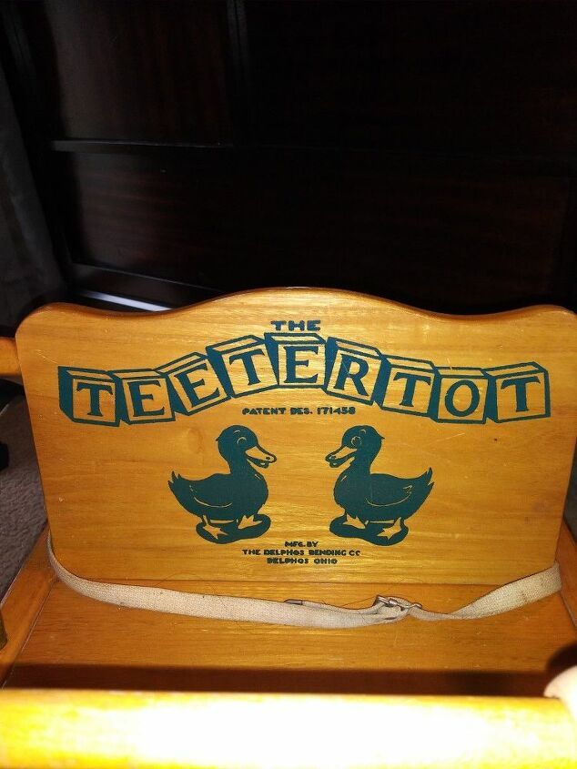 q help with pricing vintage teetertot from the 1950s