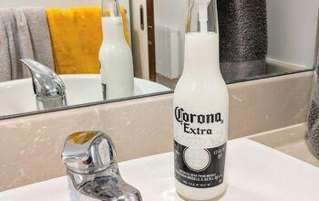 Reusing a Beer Bottle to a Soap Dispenser