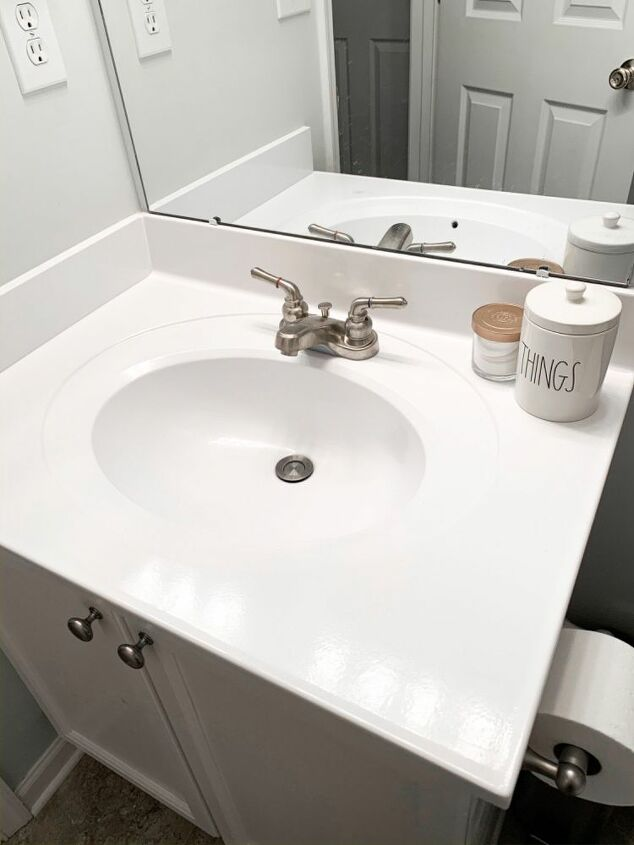 Paint Your Bathroom Sink Hometalk