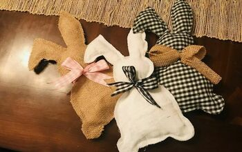 Farmhouse Easter Bunnies - Fabric Bunnies for Basket Fillers