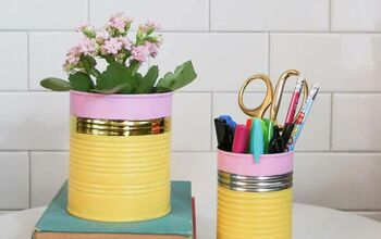 How to Make a Cute and Easy Pencil Vase for a Teacher