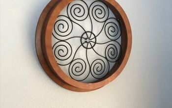 DIY Medallion Wood and Metal Wall Art