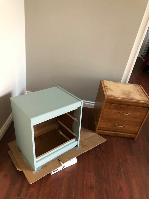 night stand upcycle diy