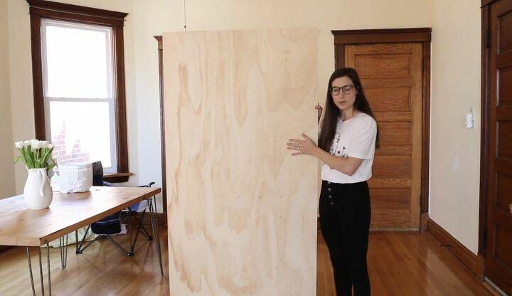 Trim Plywood Sheet into Shelves