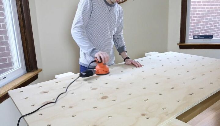 Sand Pegboard Surface