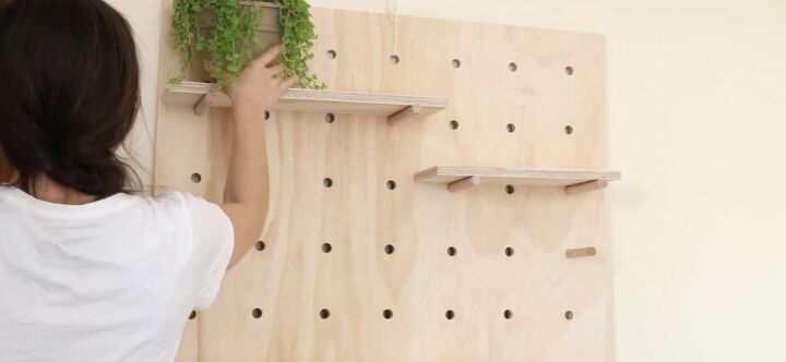 Install the Pegboard Unit
