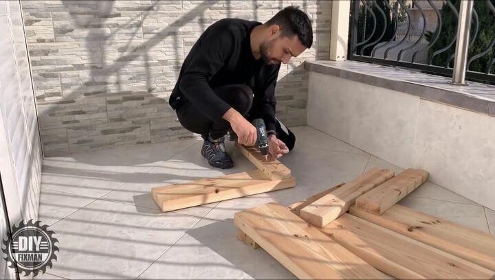 Build Bench Base and Back Frame